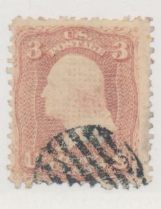 United States Stamp Scott #85, Used - Free U.S. Shipping, Free Worldwide Ship...