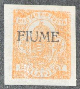DYNAMITE Stamps: Fiume Scott #P1 – MINT