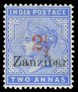Zanzibar Scott 28-29 Gibbons 38-40 Mint Set of Stamps