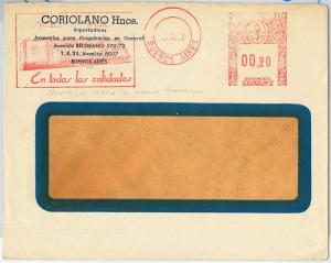 61486 - ARGENTINA - POSTAL HISTORY - RED MECHANICAL POSTMARK on COVER: INDUSTRY