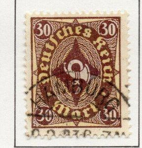 Germany 1922-23 Early Issue Fine Used 30m. NW-100820