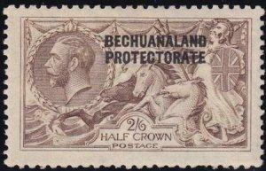 Bechuanaland 1913-1924 SC 92a MLH De La Rue Printings