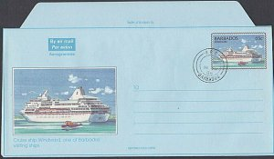 BARBADOS 2008 65c Cruise Liner aerogramme cto...............................K158