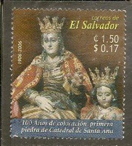 Saalvador   Scott 1642   Statues   Used