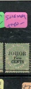MALAYA JOHORE (P2311B)  QV  2C/24C    SG  18    MOG