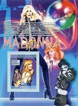 Guinea MNH S/S Madonna  WOW!!!!!