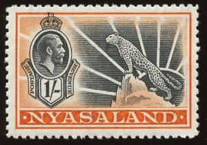 Nyasaland Protectorate Sc #46, MNH.  2019 SCV $24.00 for MH; 50% prem. for MNH