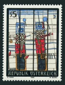 Austria 1443,MNH.Michel 1938. Art 1988.The Watchmen,by Giselbert Hoke.