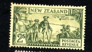 NEW ZEALAND #197 USED FVF Cat $50