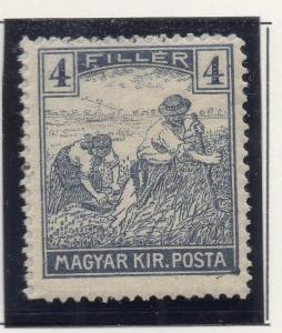 Hungary 1916-18 Early Issue Fine Mint Hinged 4f. 271050