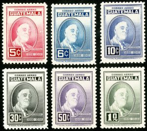 Guatemala Stamps # C151-6 MNH XF