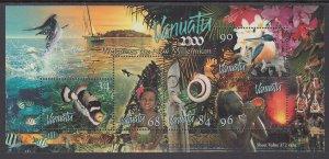 Vanuatu 757 Souvenir Sheet MNH VF