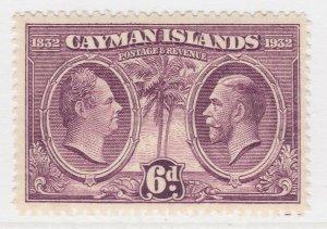 British Colony Cayman Islands 1932 6d MNH** Stamp A22P19F8941