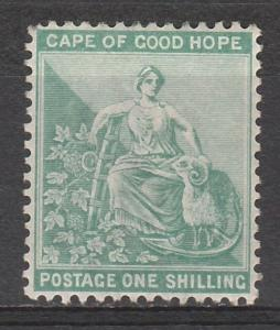 SOUTH AFRICA 1893 HOPE 1/- WMK ANCHOR