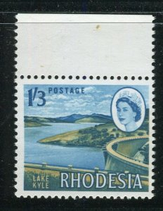 RHODESIA; 1964 early QEII Pictorial issue MINT MNH MARGIN 1s.3d. value