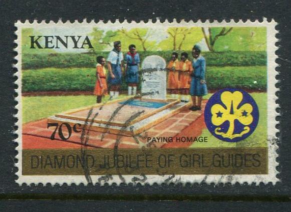 Kenya #217 Used - penny auction