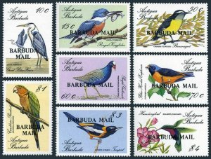 Barbuda 952-961,MNH.Michel 1046-1053,Bl.131. Birds 1988.Pelican,Flamingo,Heron,