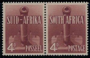 South Africa #86* pair  CV $22.50