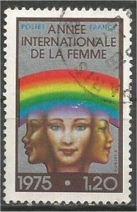 FRANCE, 1975 used 1.20fr, International Women, Scott 1456