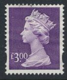 Great Britain SG Y1802 Machin £3   Used