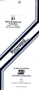 SHOWGARD BLACK MOUNTS 264/91 (10) RETAIL PRICE $16.25