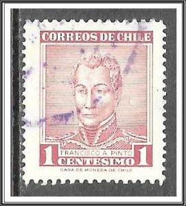 Chile #324 Francisco A Pinto Used