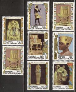 CENTRAL AFRICAN REPUBLIC SC# 349-56 VF U 1978