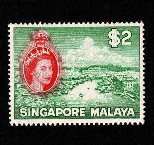Singapore – Scott #41 Mint (River Scene)