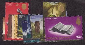 Pitcairn Scott # 97 - 109 set VF OG mint never hinged cv $ 22 ! see pic !
