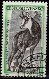 Czechoslovakia Scott 818 used Chamois stamp