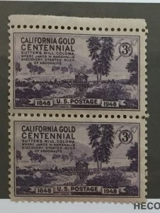 US #954 (MNHOG) [Mint No Hinge Original Gum] California Gold Centennial