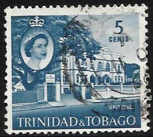 Trinidad & Tobago 1960 Scott# 91 Used