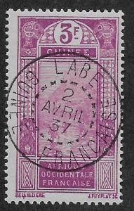 FRENCH GUINEA SC# 95  FVF/U    1930