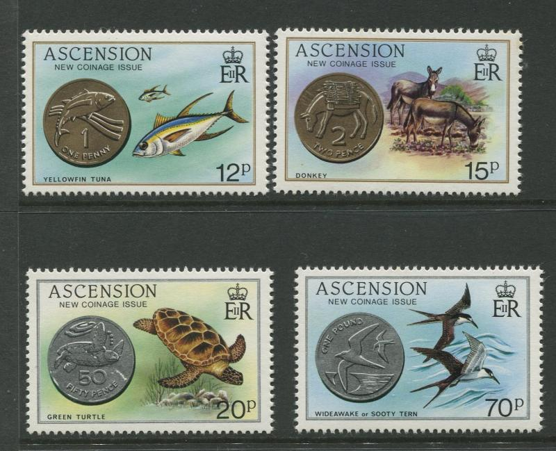 Ascension - Scott 355-358 - General Issue -1984 -MNH - Set of 4 Stamps