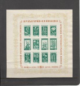 BULGARIA *843a SOUVENIR SHEET MNH 2014 SCOTT CATALOGUE VALUE $40.00
