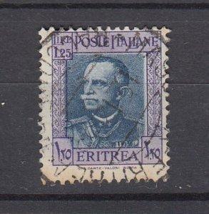 J29688, 1931 eritrea used #156 king