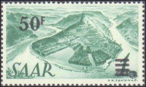 Saar #175-187, Complete Set(13), 1947, Hinged