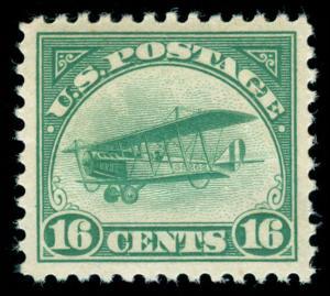 momen: US Stamps #C2 MINT OG H SUPERB