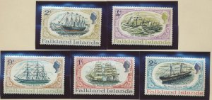 Falkland Islands Stamps Scott #192 To 196, Mint Hinged - Free U.S. Shipping, ...