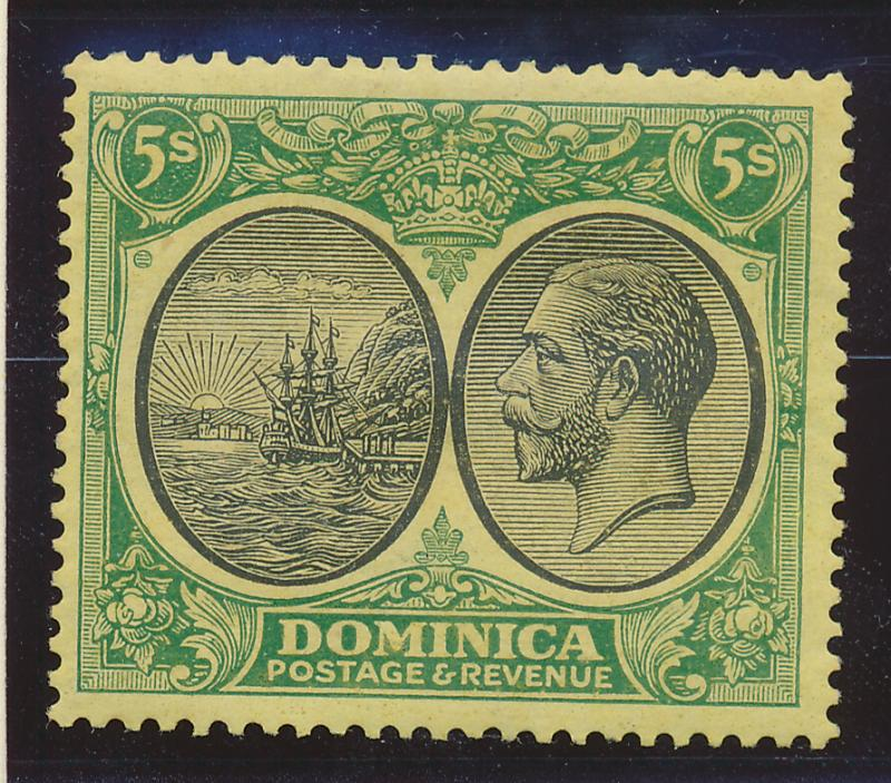 Dominica Stamp Scott #82, Mint Hinged - Free U.S. Shipping, Free Worldwide Sh...