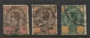 STAMP STATION PERT Siam #3 Used  Stamps - Unchecked