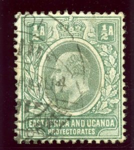 K.U.T. 1904 KEVII ½a green very fine used. SG 1. Sc 1.