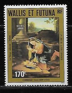 Wallis and Futuna Islands C118 Christmas single MNH