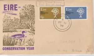 Ireland 1970 Postal History Stamps Cover Ref: R7696