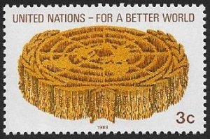 United Nations UN New York 1988 Scott # 521 Mint NH Ships Free With Another Item