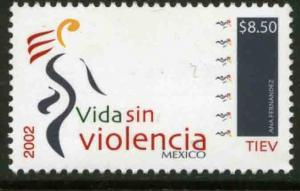 MEXICO 2301, Anti-Violence Campaign. MINT, NH. VF.