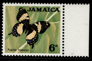 JAMAICA QEII SG223, 6d, NH MINT.