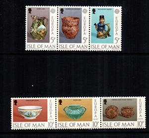 Isle Of Man MNH 86-91 Europa 1976