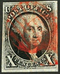 U.S. #2 USED RED CANCEL
