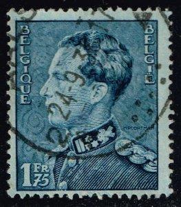 Belgium #295 King Leopold III; Used (0.25)